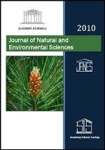 Journal of Natural and Environmental Sciences